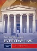 Gale Encyclopedia of Everyday Law cover