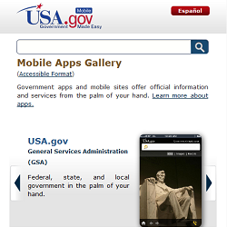 APPS.GOV screen shot