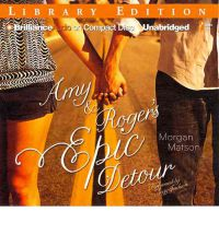 CD Book Cover for Amy and Roger's Epic Detour