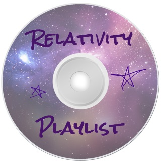 CD Cover for the Playlist for the book Relativity