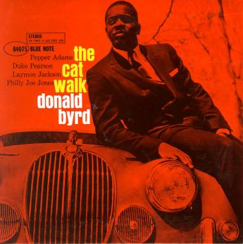 "Cover sleeve of ""The Cat Walk"" on Blue Note"