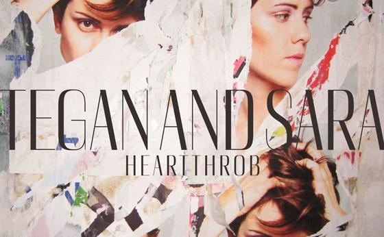 Tegan and Sara Heartthrob cover