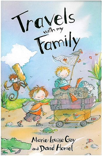 Travels with my Family cover