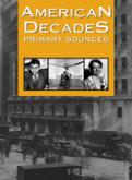 American Decades Primary Sources cover