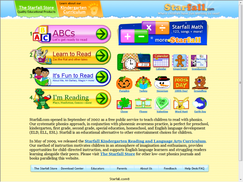 starfall screenshot