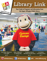 Cover of the UAPL fall 2014 program guide