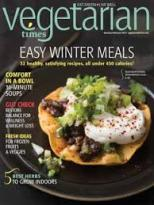 Vegetarian times magazine cover