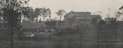 Golf tournament at Scioto Country Club in 1918