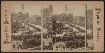 Labor Day Parade in New York's Union Square 1887