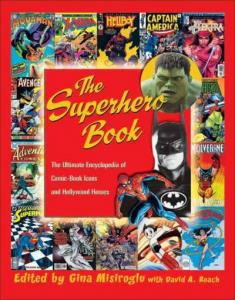Cover image for The Superhero Book