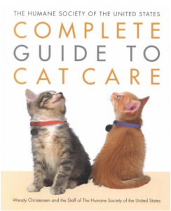 cover of complete guide to cat care, two kittens