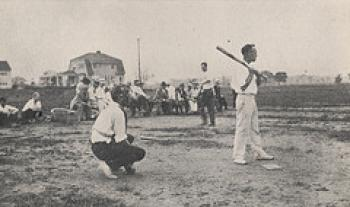 Upper Arlington vs. Grandview Baseball Game in 1918