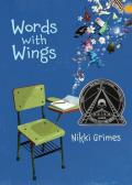 Book cover for Words with Wings by Nikki Grimes