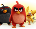3 characters from Angry Birds