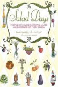 A variety of salad ingredients