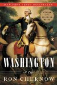 George Washington on his white horse.