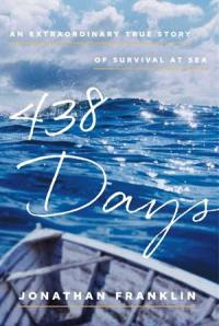 Book cover showing a boat on blue water with white clouds and sky overhead