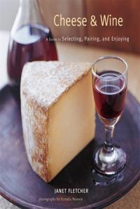 wine and block of cheese