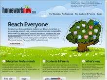 Homework Now site