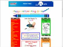 Preschool coloringbook screenshot