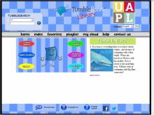 Tumblebooks site screenshot