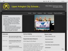 UA Schools site
