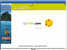 Uptoten.com site screenshot