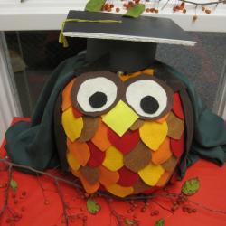Pumpkin Likeness of Prof Owl