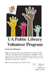 Volunteer Brochure frontpage