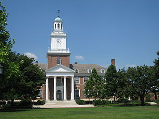 Johns Hopkins campus