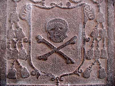 Pirate's headstone, Exploring New Lives, the 17th and 18th Centuries
