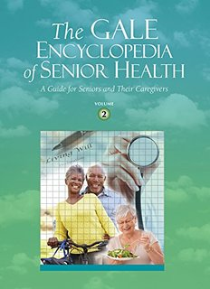 GVRL Gale Encyclopedia of Senior Health Book Cover