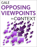 Gale Opposing Viewpoints in Context logo - arrows pointing at each other