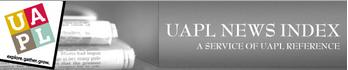 UAPL News Index. A service of UAPL Reference