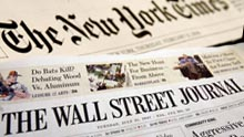 WSJ and NYT Newspapers