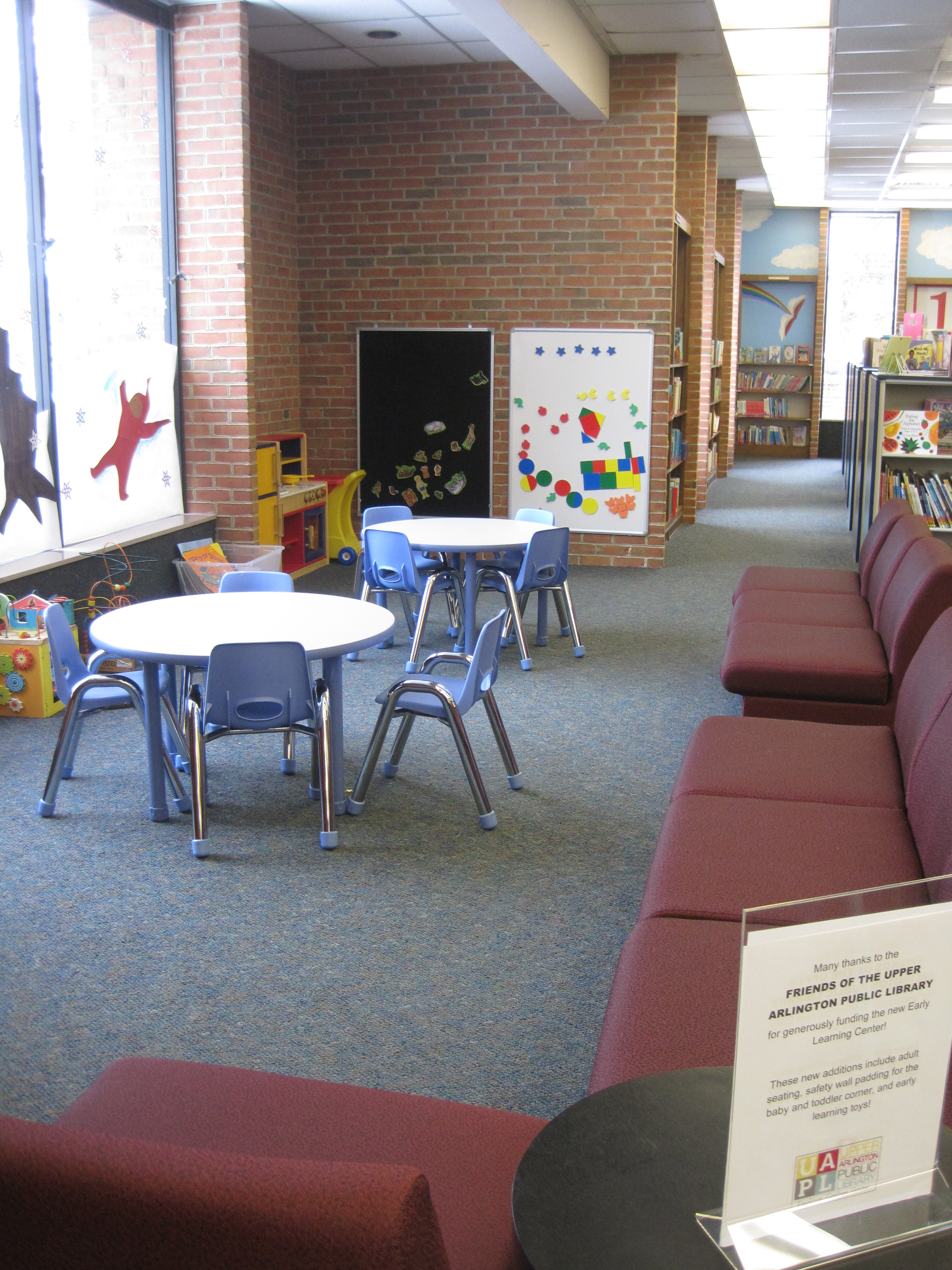 Tremont Early Learning Center tables