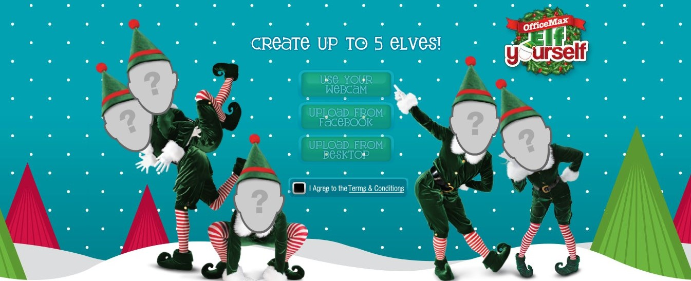 Elf Your Self APP