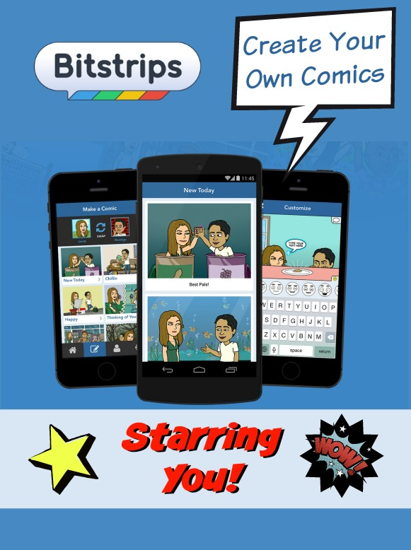 Image for Bitstrips App Website