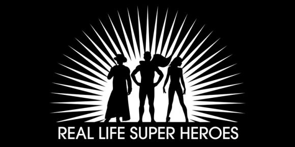 Logo for the Website Real Life Super Heroes