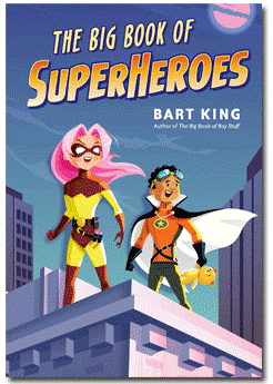 Book Cover for Bog Book of SuperHeroes by Bart King