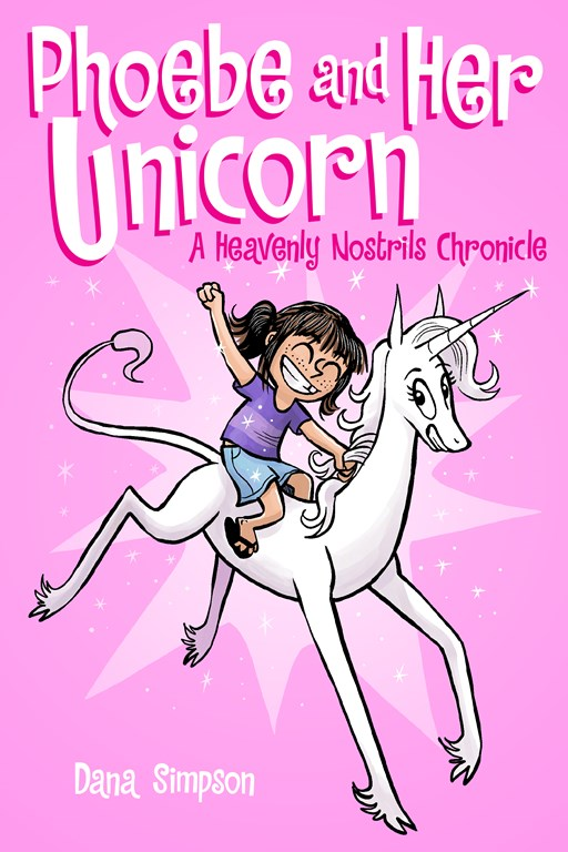 Book Cover for Phoebe and Her Unicorn by Dana Simpson