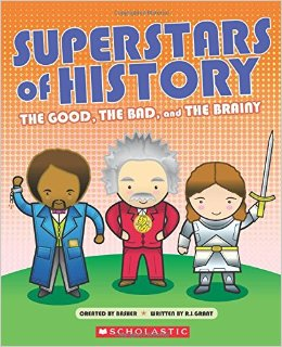 Book Cover for Superstars of History by R. J. Grant