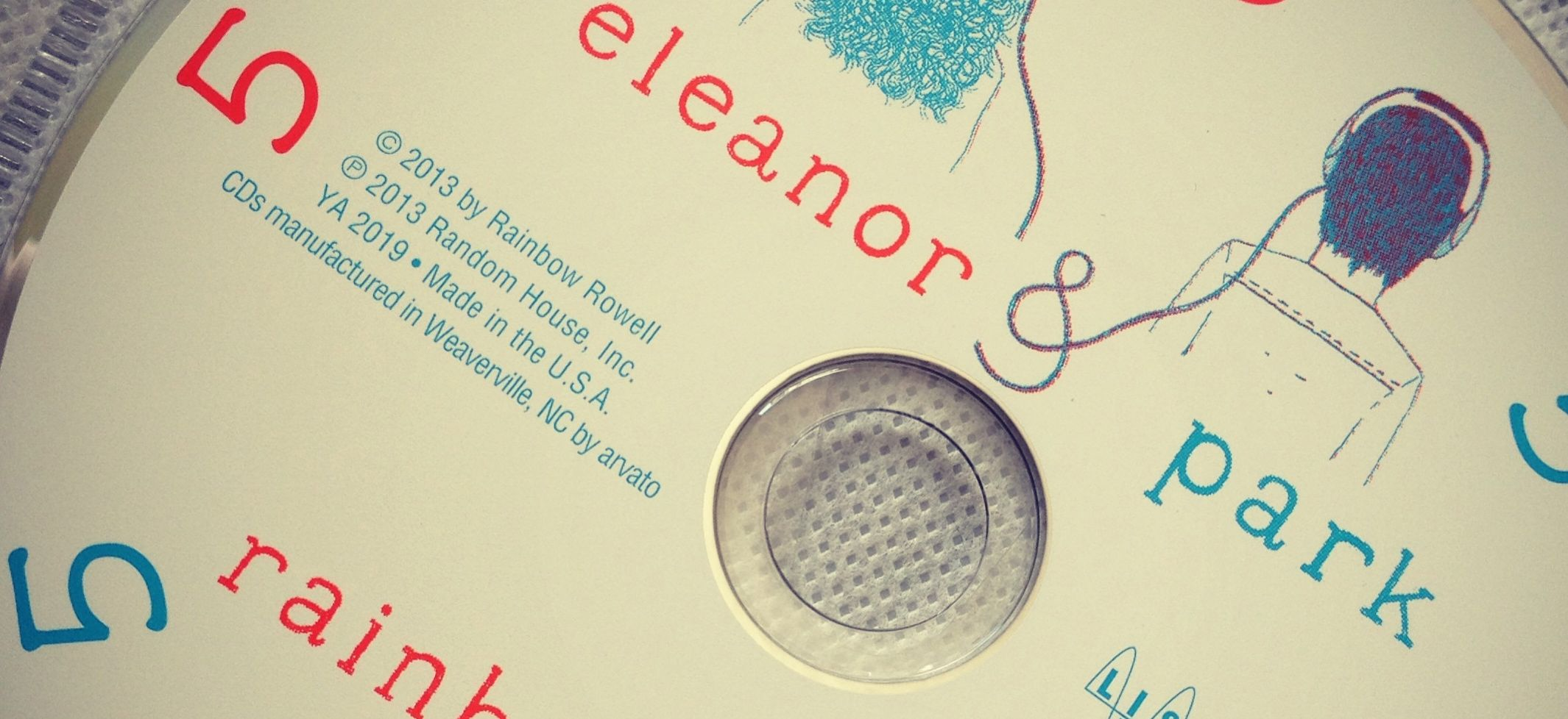 CD Cover for the Playlist for the Book Eleanor and Park